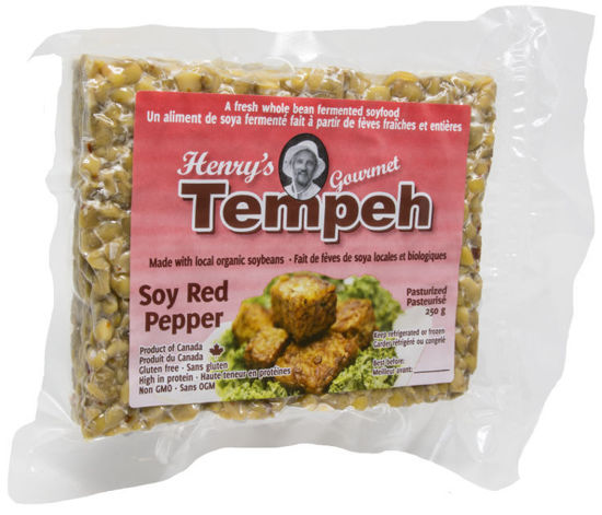Henry's: Soy Tempeh - Red Pepper 250grams. Allgood Shop ...